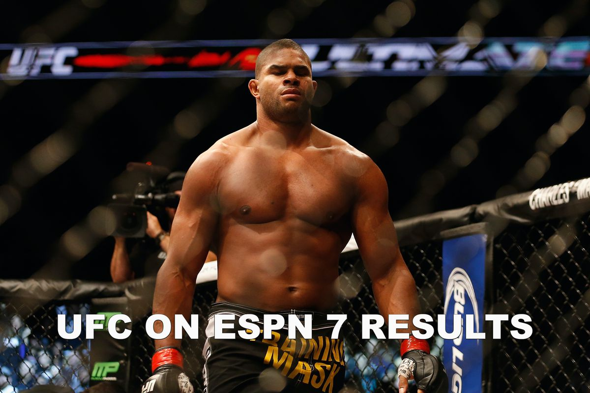 Ufc On Espn 7 Live Stream Results Overeem Vs Rozenstruik