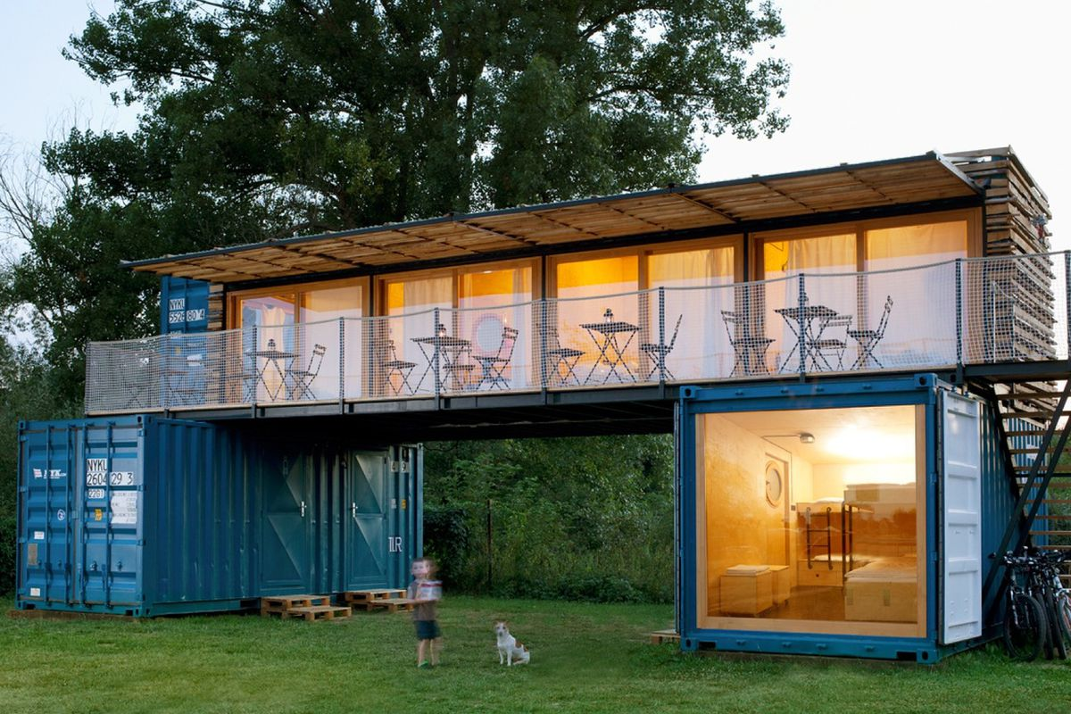 shipping container hotel