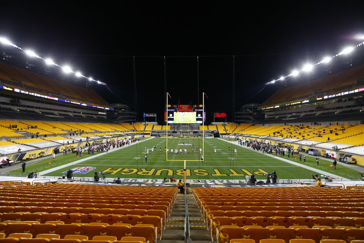 A general view of the game between the Pittsburgh Steelers and the Washington Football Team at Heinz Field on December 07, 2020 in Pittsburgh, Pennsylvania.