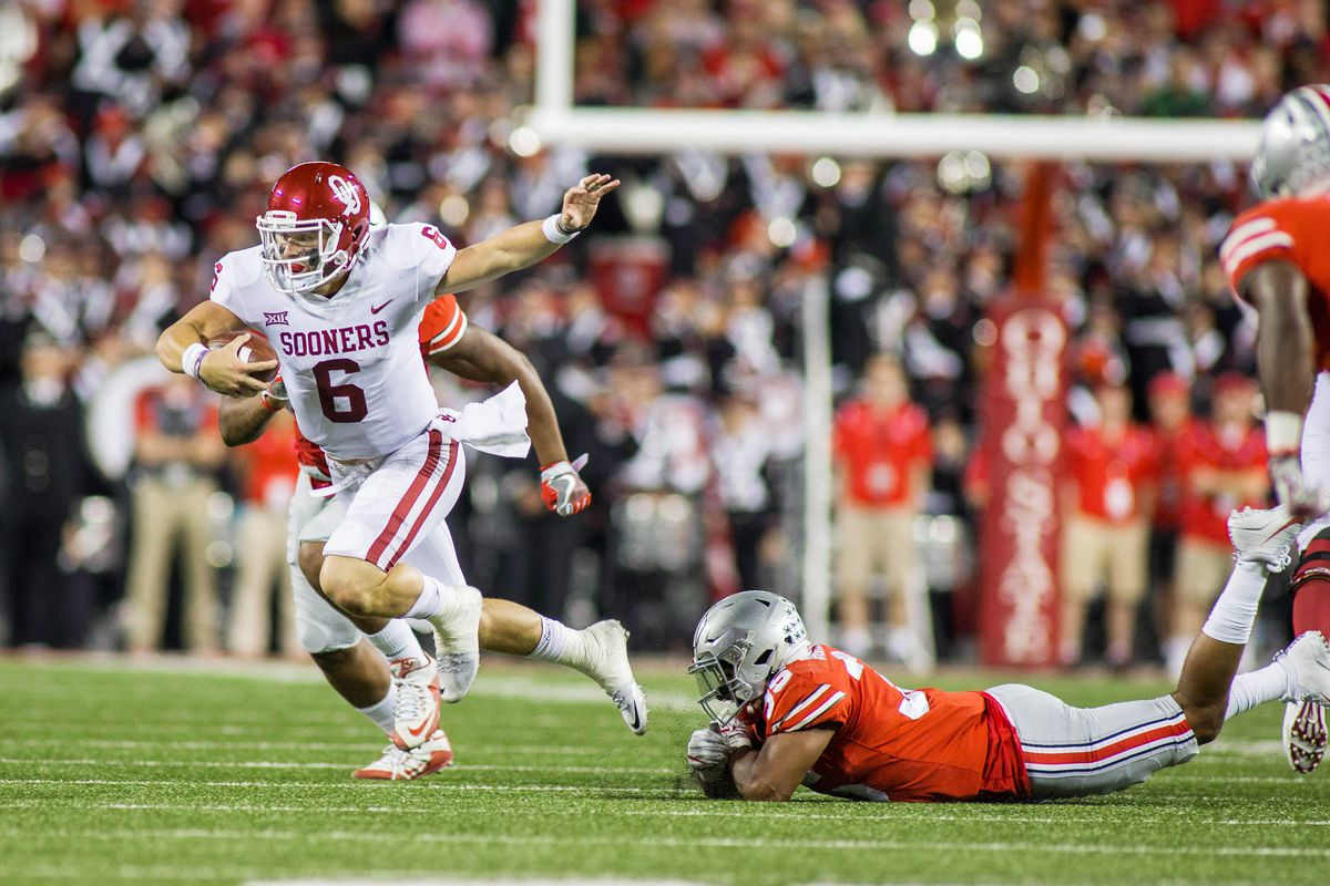 cd3ecfc5d58 Oklahoma vs. Ohio State  4 memories of Baker Mayfield s amazing ...