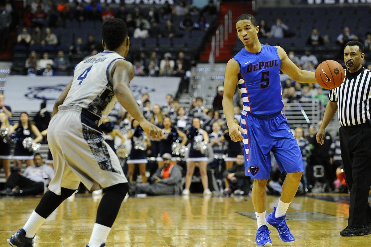 NCAA Basketball: DePaul at Georgetown
