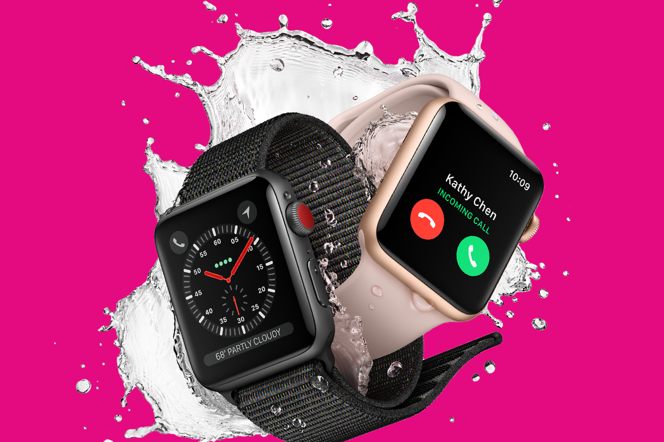 The Apple Watch will be throttled to 3G data speeds on T-Mobile's network