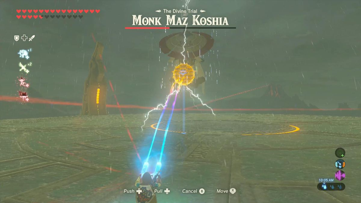 Zelda Breath of the Wild Champions' Ballad guide: Monk Maz