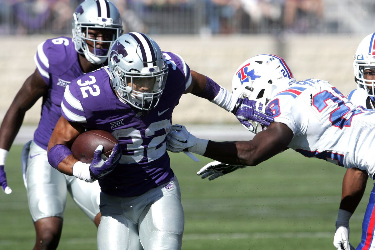 Wildcat running back Justin Silmon is one of three running options for Bill Snyder in 2015.
