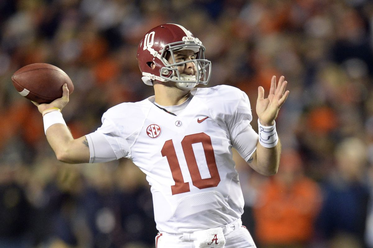 """Barker says AJ McCarron will be remembered as """"one of the greats to play the game"""" at Alabama"""