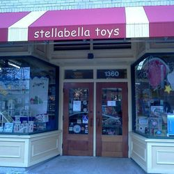 """<a href=""""http://www.stellabellatoys.com/"""">Stellabella Toys</a> (1360 Cambridge Street) is a local chain chock full of unusual toys for kids of all ages, including dollhouses, construction vehicles, and artistic sets for those future RISD and MassArt stude"""