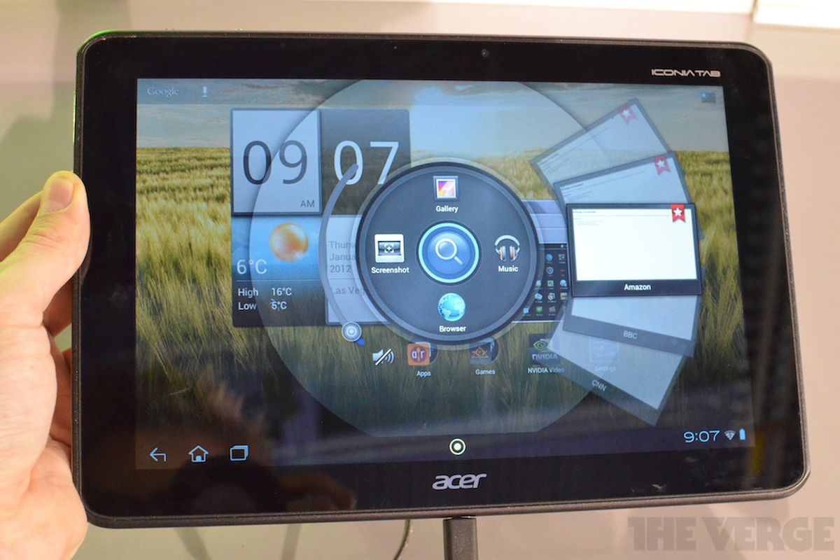 Gallery Photo: Acer Iconia A510 pictures