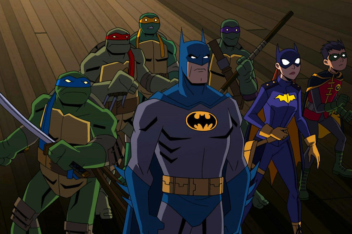 Batman teams with the ninja turtles in a new animated film - Super batman movie ...