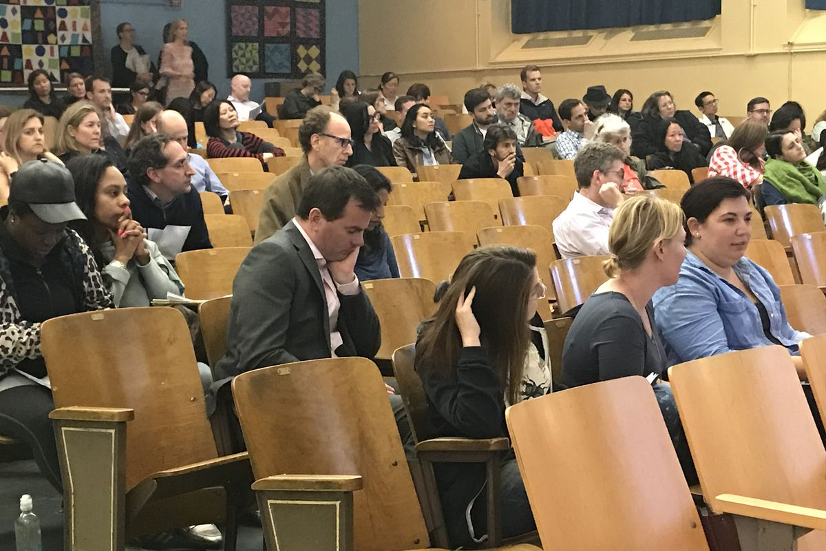 Parents gathered at a recent Community Education Council meeting in District 3 to learn about the city's plan to integrate Upper West Side and Harlem middle schools.