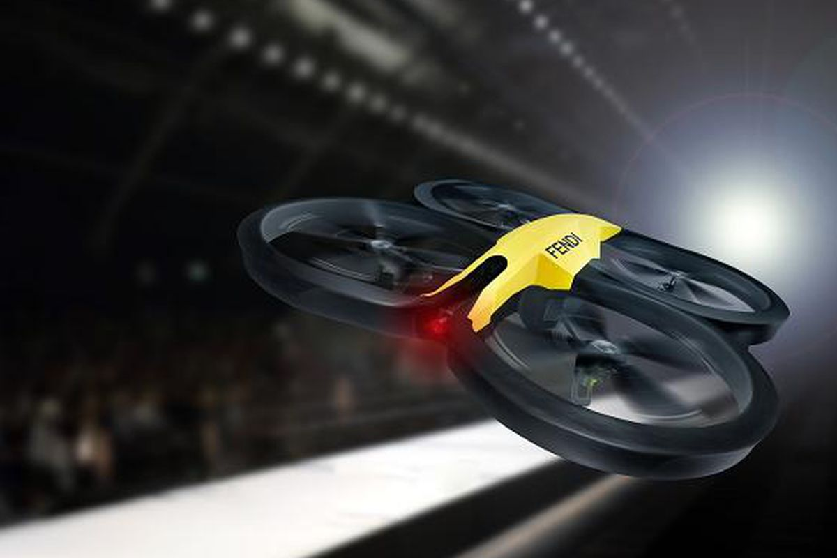 "A Fendi drone. Photo <a href=""http://www.thetimes.co.uk/tto/life/fashion/article4009107.ece"">via</a>."
