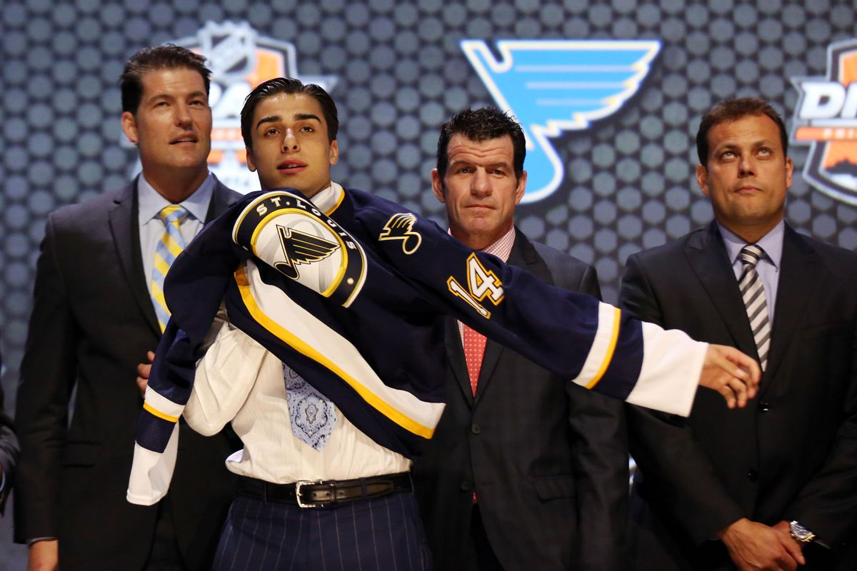 2014 first-round selection Robby Fabbri will be among the prospects the Blues will take to Traverse City this coming weekend. Photo by