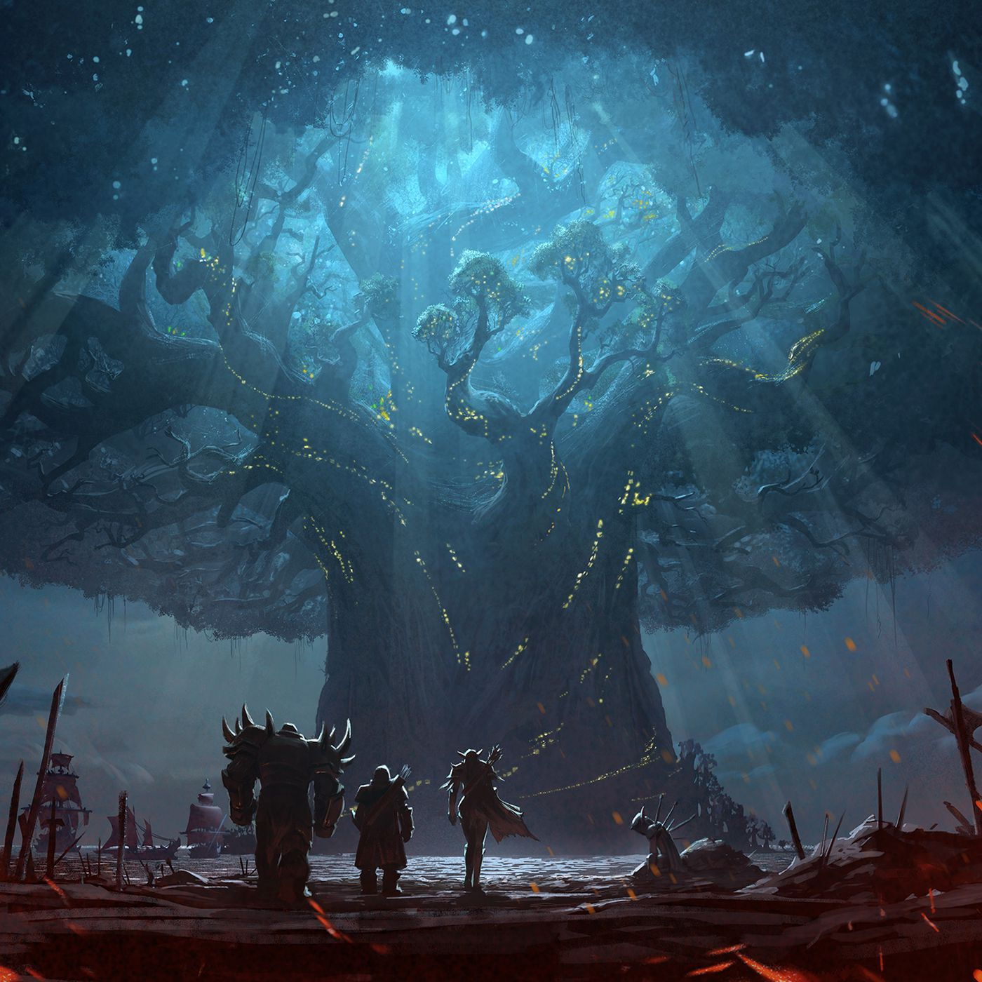 World Of Warcraft S Burning Of Teldrassil Cinematic Is A Meme