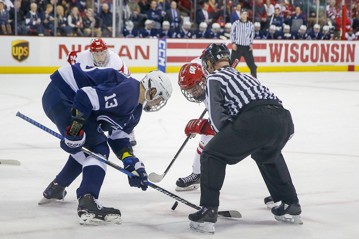 COLLEGE HOCKEY: JAN 26 Penn State at Wisconsin