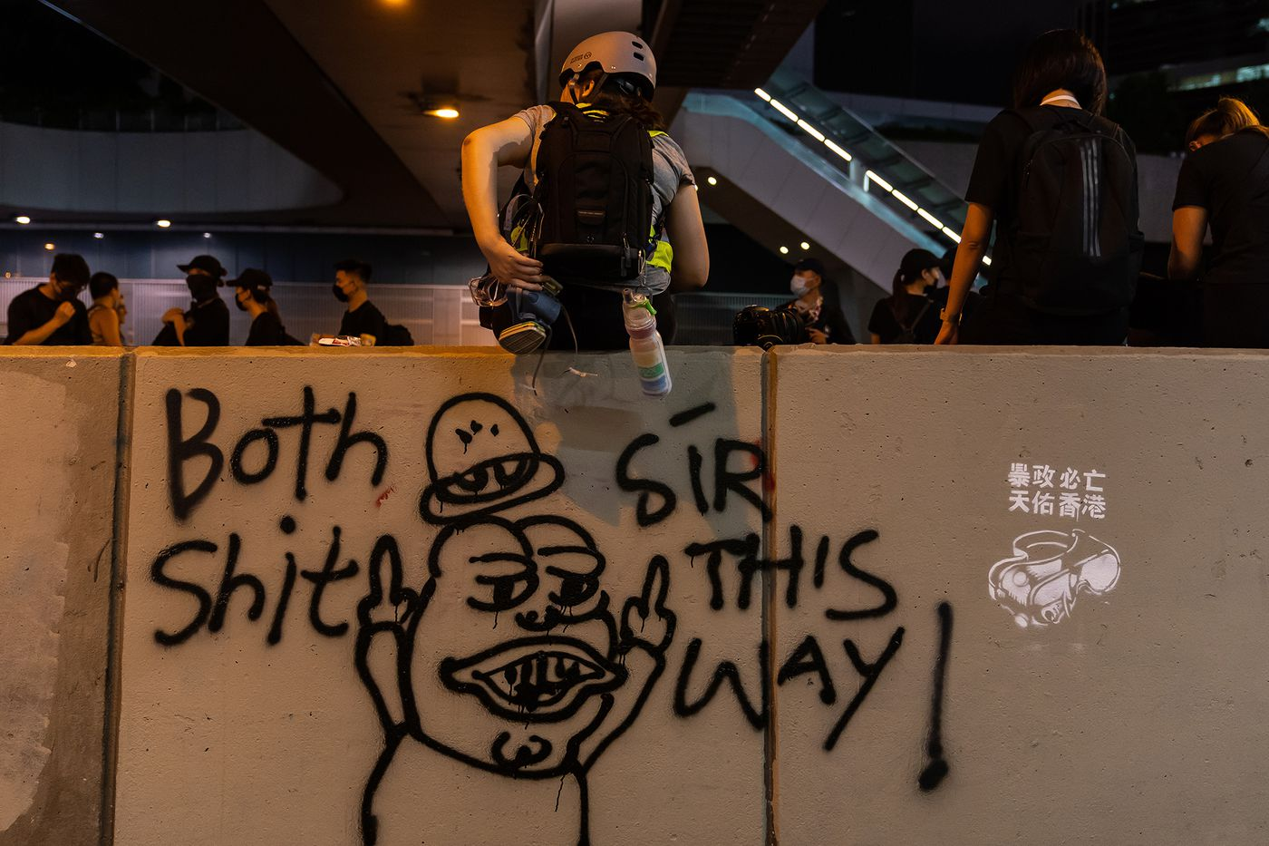 How Pepe the Frog is tied to the Hong Kong protests at Dota