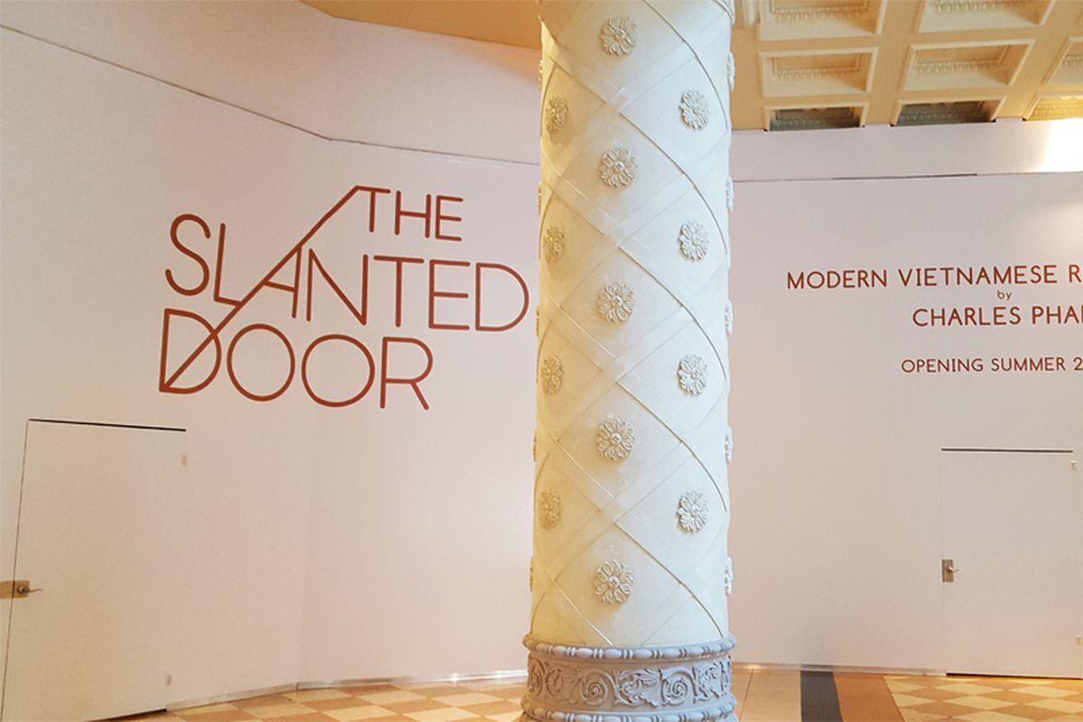 The Slanted Door Bradley Martin