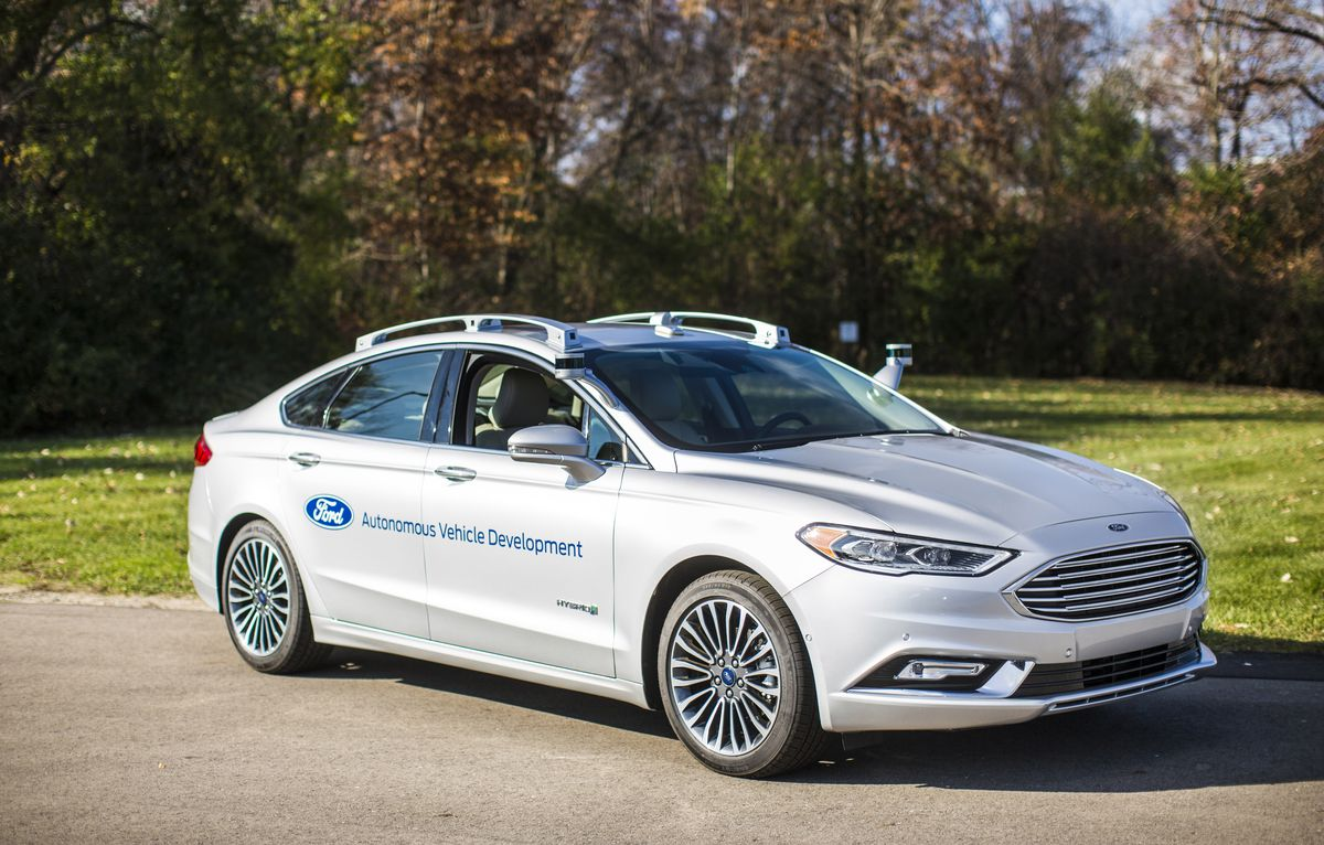 Ford and Lyft will work together to deploy autonomous cars