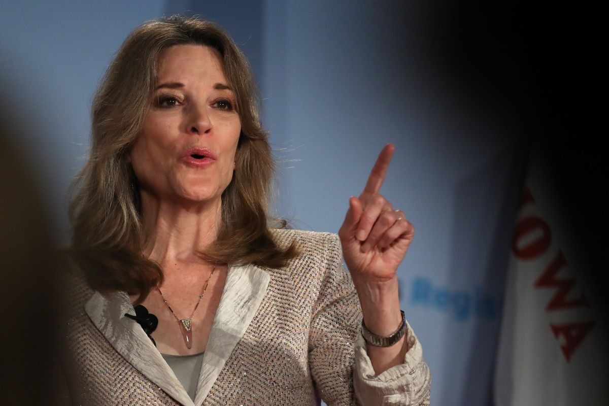 Why Marianne Williamson's most famous passage is cited as a Nelson