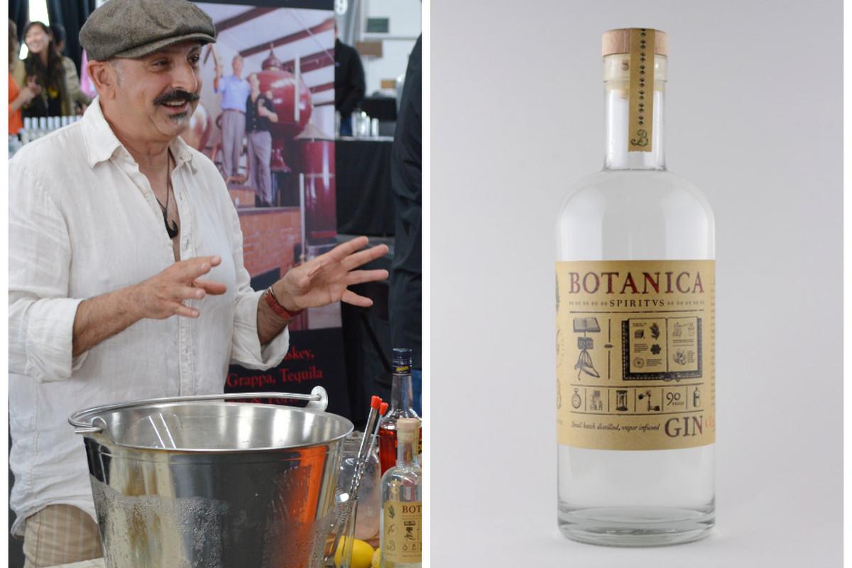 Dormishian, left, and the Botanica bottle, right.