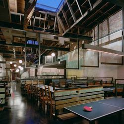 """Slightly different from some of the classically romantic picks on this list, Comet Ping Pong is an icon of its own class. It's the epitome of laidback, with ping pong tables set up to help pass the time while you wait for a table. [Photo: <a href=""""https:/"""