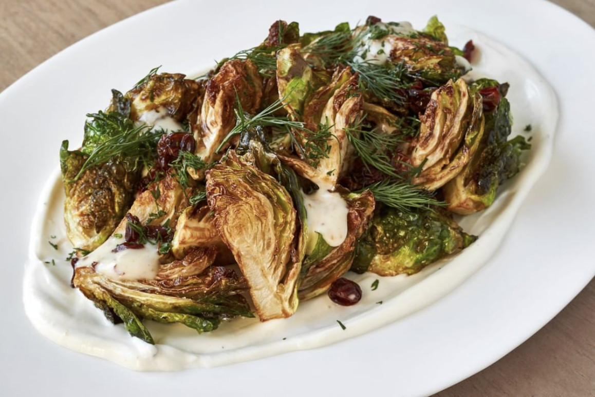 Brussels sprouts at Zaytinya
