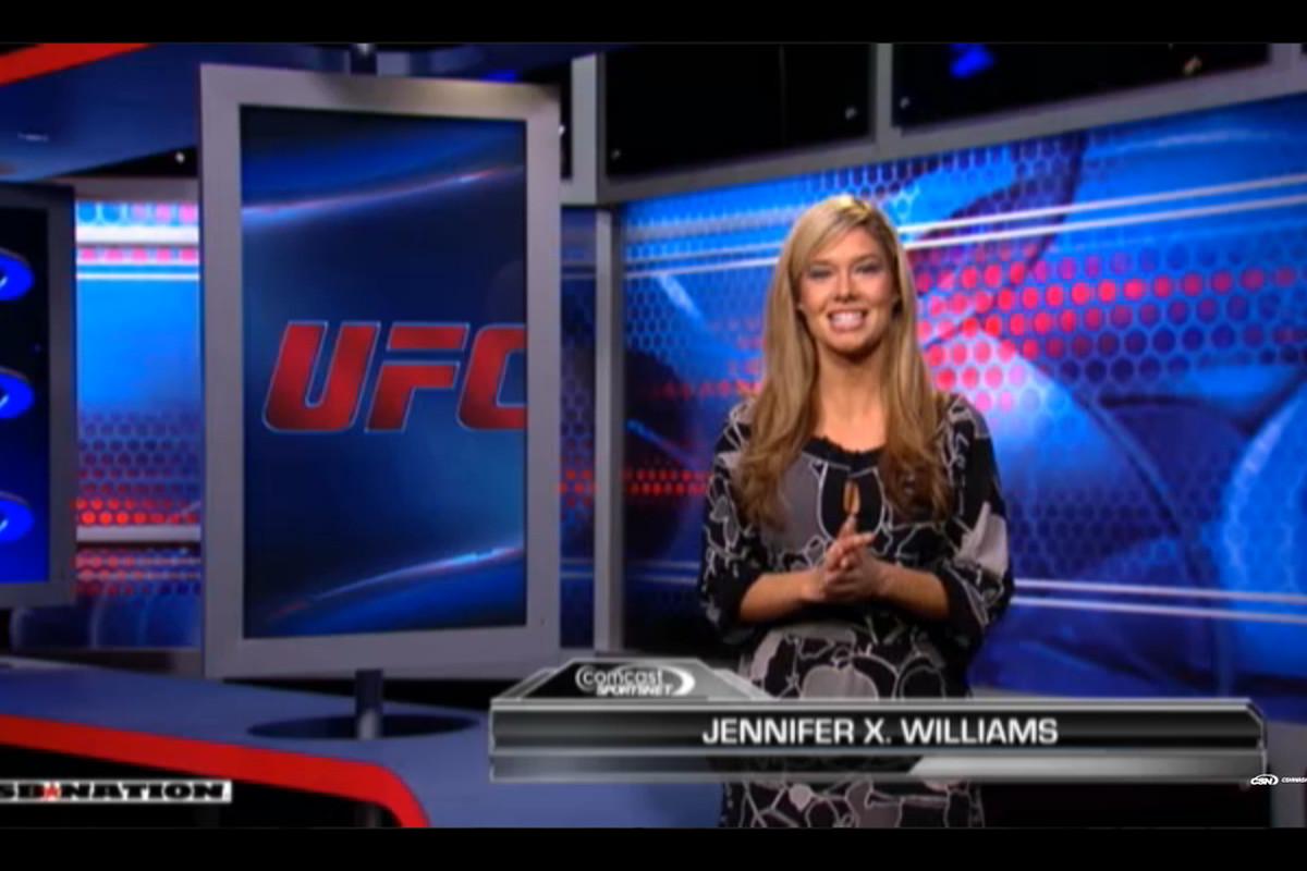 Jennifer Williams on The Fight Fix