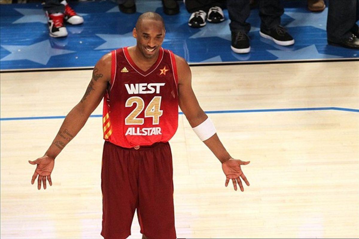 3f992ba9de1 2012 NBA All-Star Game  Kobe Bryant Breaks Scoring Record In West ...