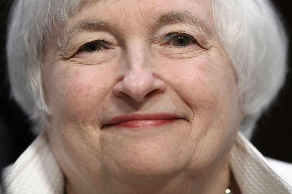 Federal Reserve Board Chairwoman Janet Yellen Gives Semiannual Monetary Policy Report To Senate Committee