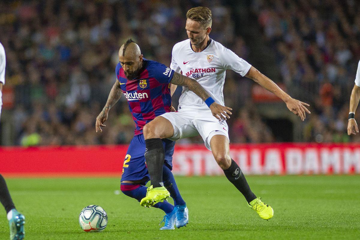 Barcelona V Sevilla, La Liga regular season.