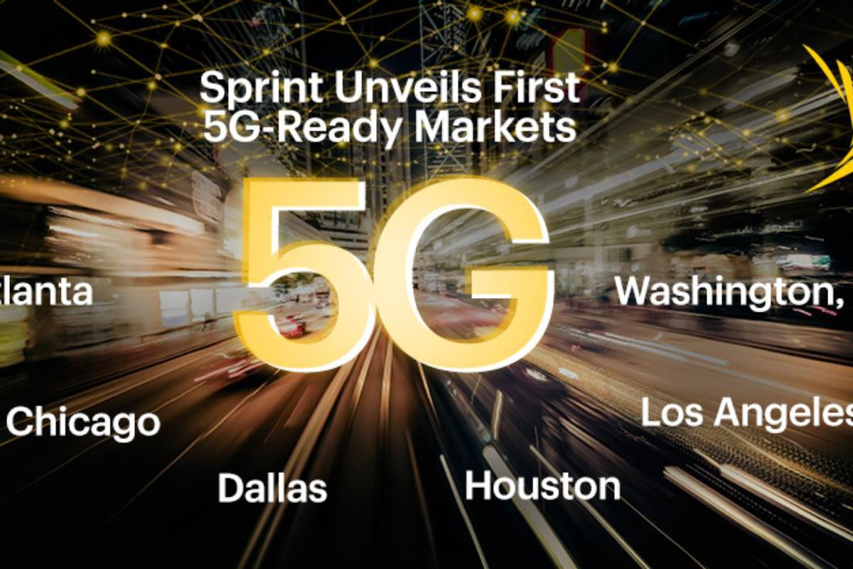Sprint is preparing six cities for 5G with Massive MIMO