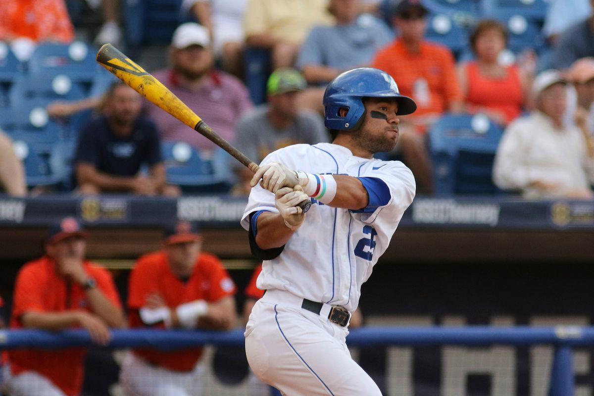 NCAA BASEBALL: MAY 19 SEC Baseball Tournament - Auburn v Kentucky