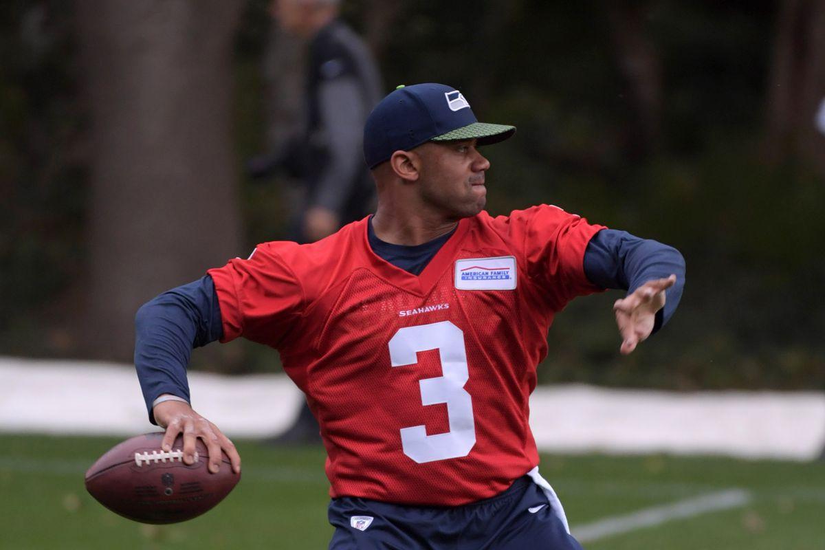 NFL: International Series-Seattle Seahawks Practice