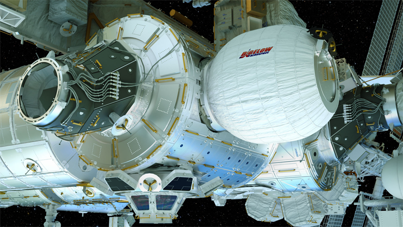 inflatable ISS