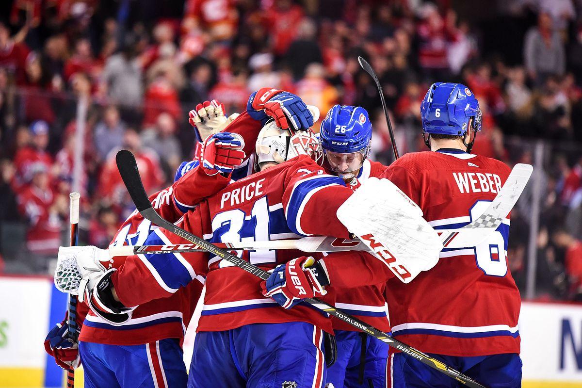 NHL: DEC 19 Canadiens at Flames