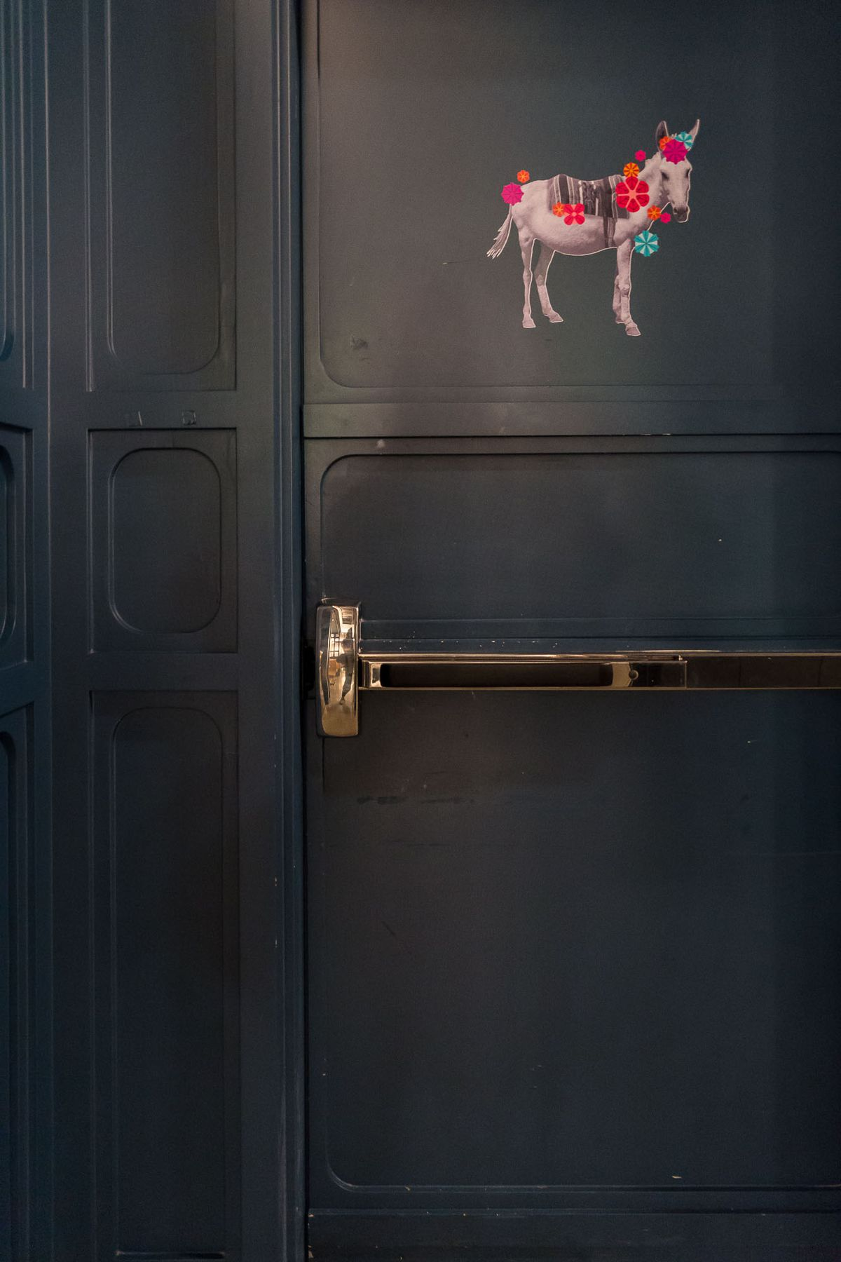 The door to Ghost Donkey