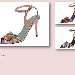 Maud sandal, $375.