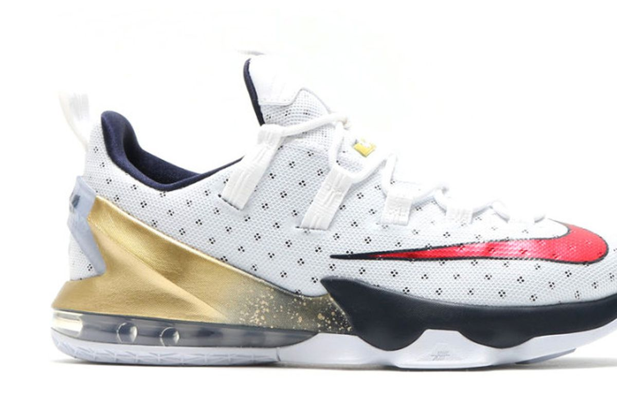 "Cavs Kicks  ""Olympic"" Nike LeBron 13 Low - Fear The Sword 0432d0676"