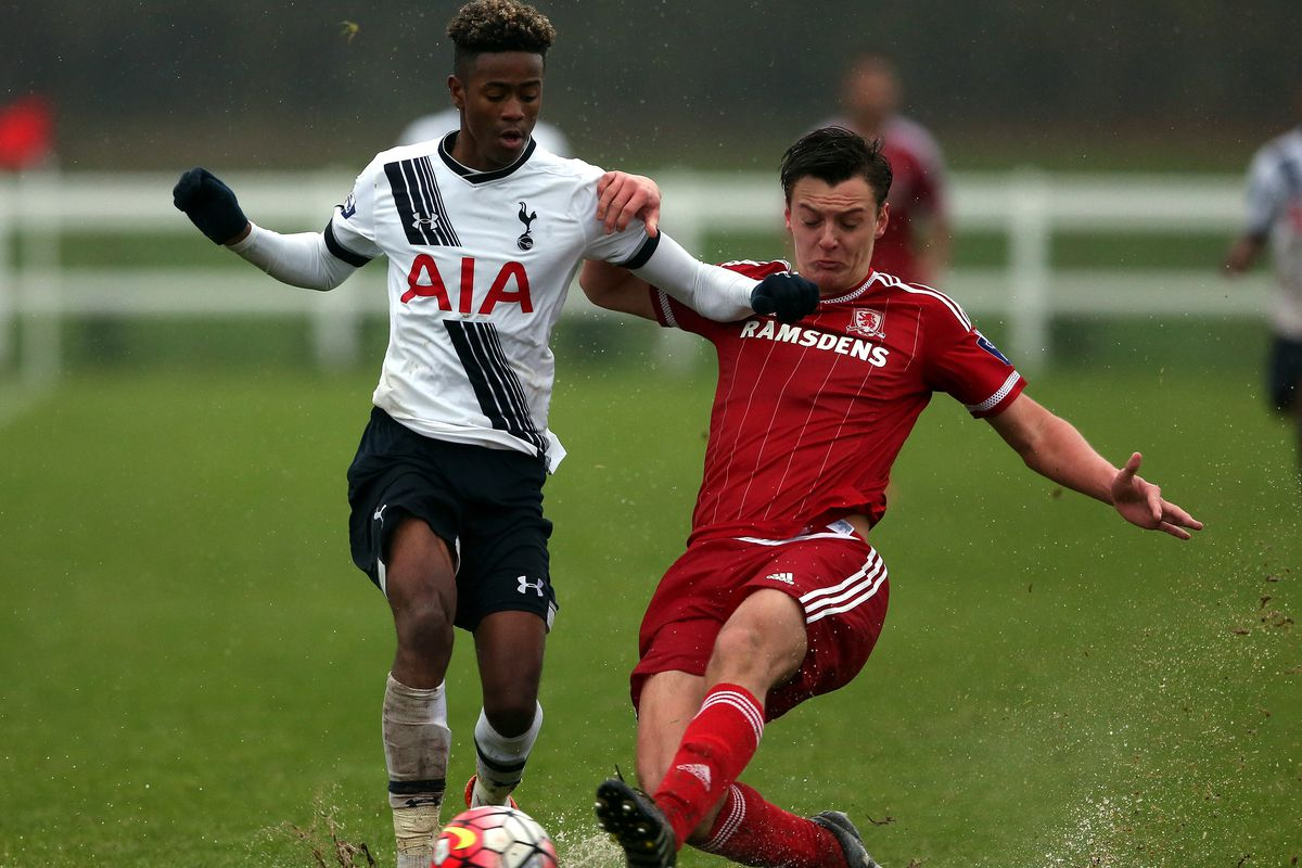 Spurs academy player Shayon Harrison