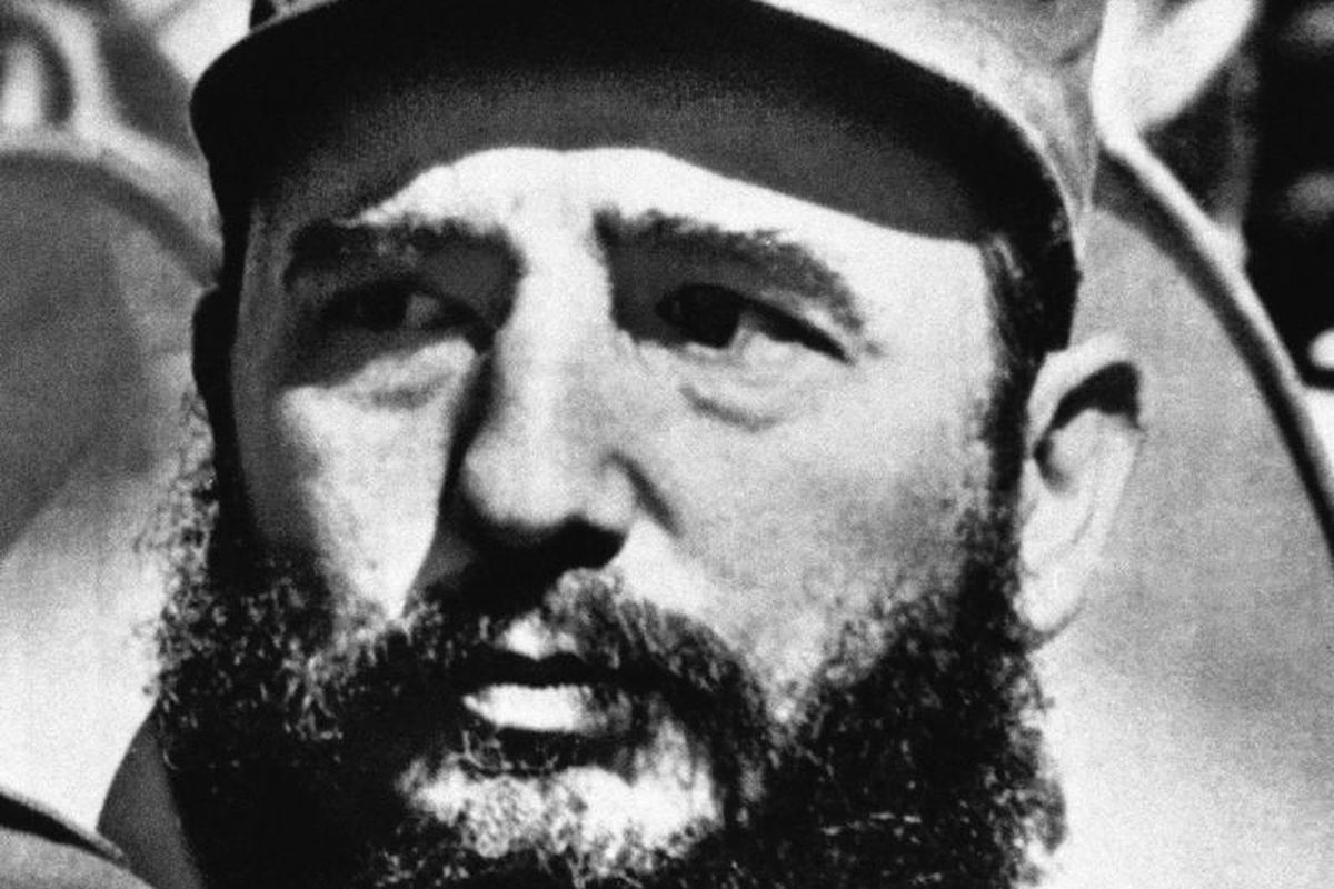 Fidel Castro is shown, date and location unknown. (AP Photo)