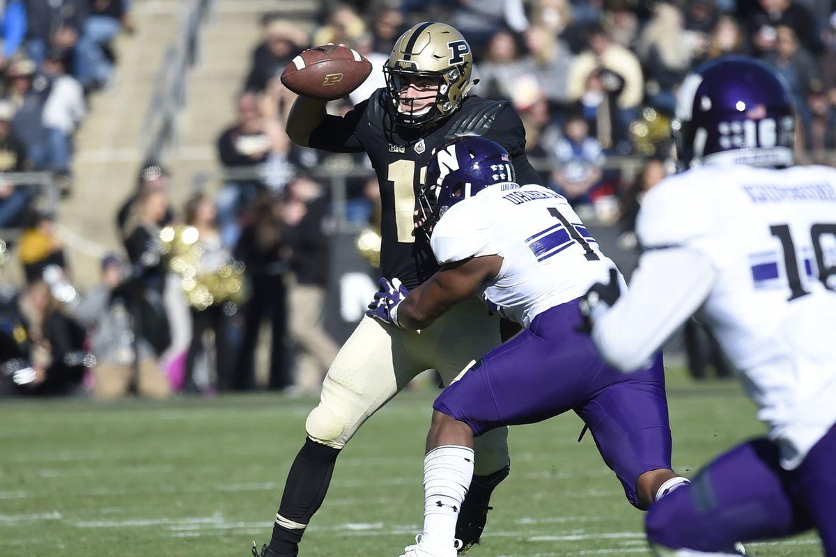 NCAA Football: Northwestern at Purdue