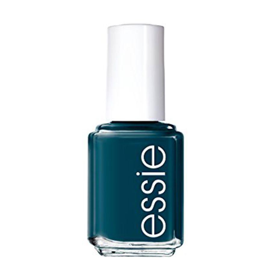 A green blue Essie nail polish