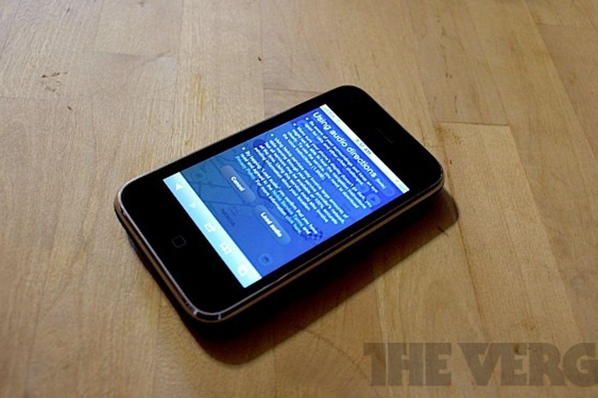 Nokia Maps iOS voice directions