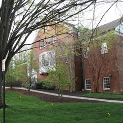 The meetinghouse in Chevy Chase, Maryland, on Sunday, April 19, 2015.