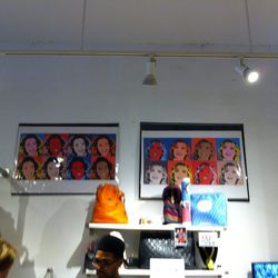 Andy Warhol-style prints, $550 each
