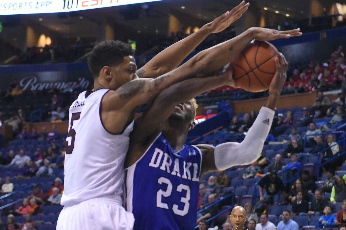 NCAA BASKETBALL: MAR 03 Missouri Valley Conference Championship - Drake v Missouri State