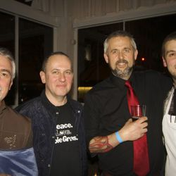 Chefs Philippe Boulot, Vitaly Paley, John Gorham, and Chris DiMinno