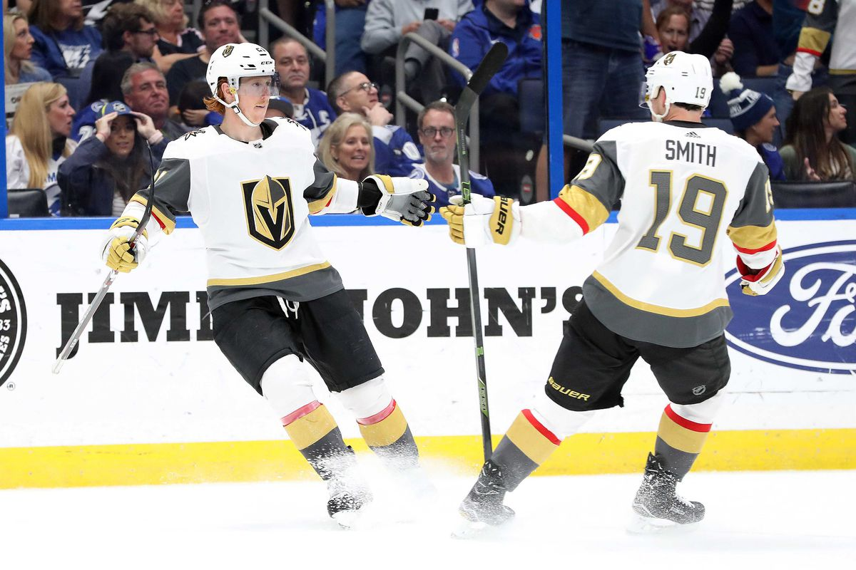 NHL: Vegas Golden Knights at Tampa Bay Lightning