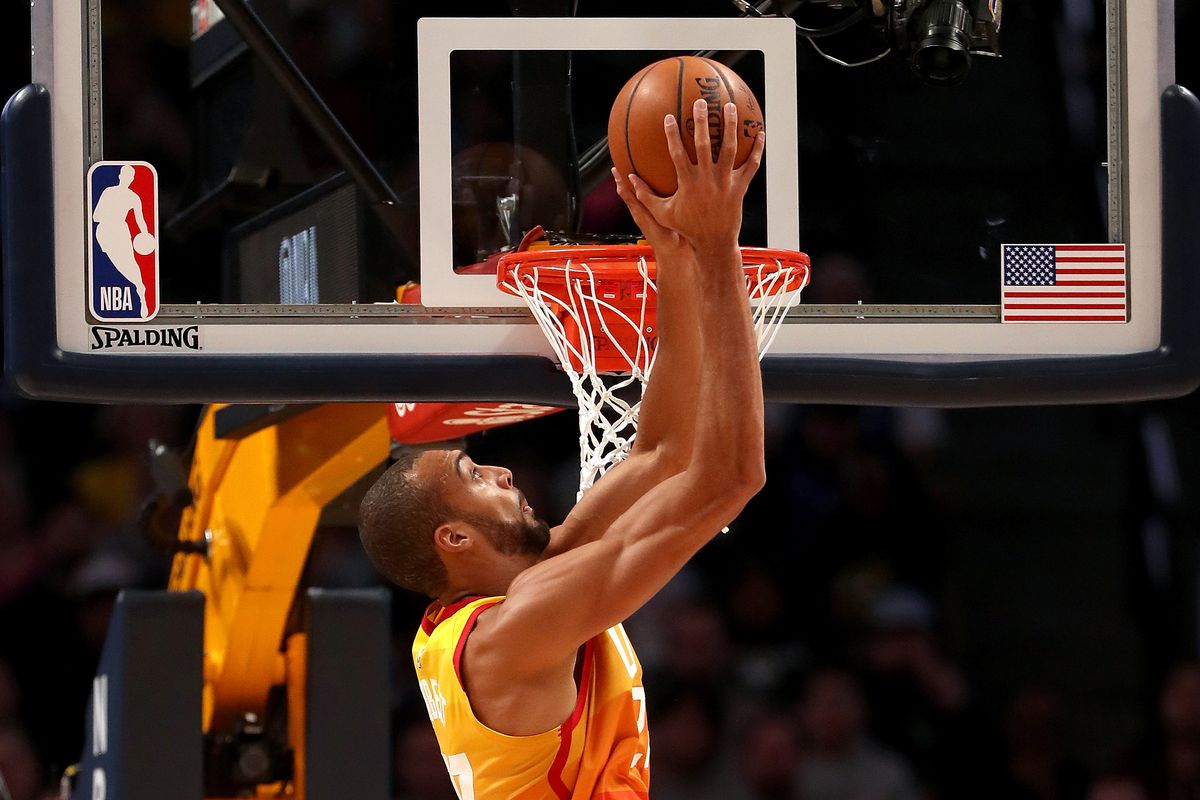 promo code d5f44 6a81d Rudy Gobert dominates Nikola Jokic in huge Utah Jazz victory over the  Denver Nuggets - SLC Dunk