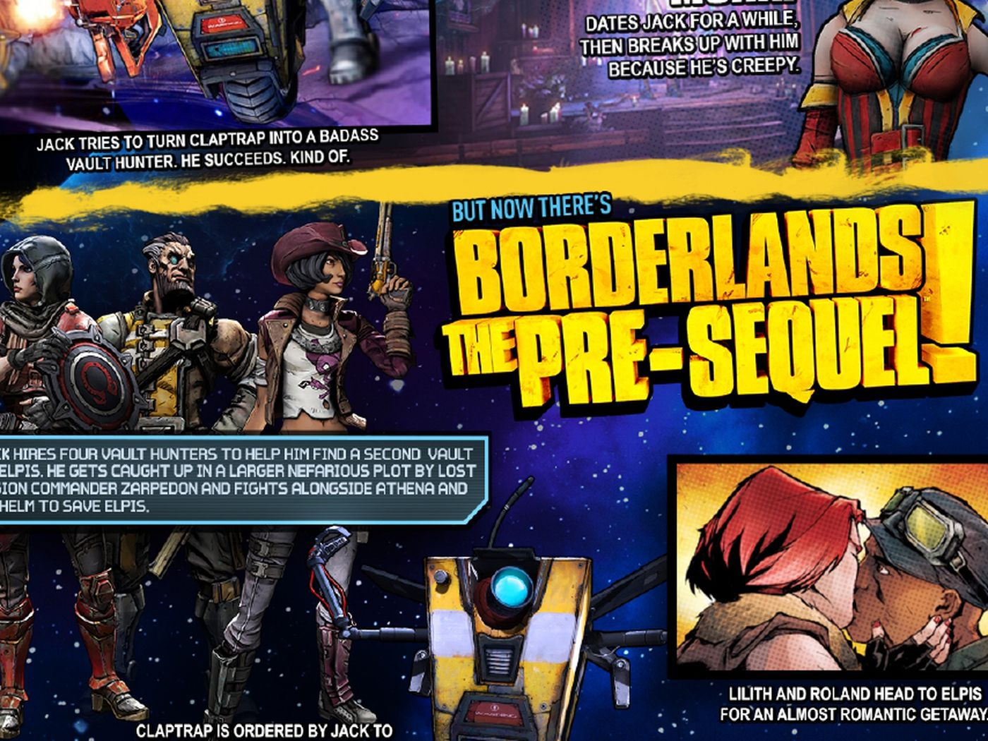 Watch out for spoilers in this Borderlands visual timeline - Polygon
