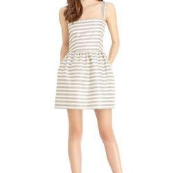 "<a href=""http://www.rachelroy.com/BASKET-STRIPE-DRESS/110407359,default,pd.html?variantSizeClass=&variantColor=JJM09XX&cgid=110004705&prefn1=catalog-id&prefv1=rachelroy-catalog"">Basket Stripe dress</a>, $79 (was $129)"