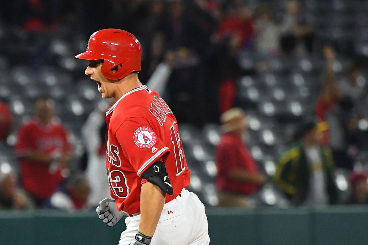 MLB: Oakland Athletics at Los Angeles Angels